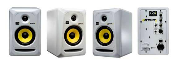 krk rp6g3w na rokit 6 generation 3 powered studio monitors rp6 g3 white pair ebay. Black Bedroom Furniture Sets. Home Design Ideas
