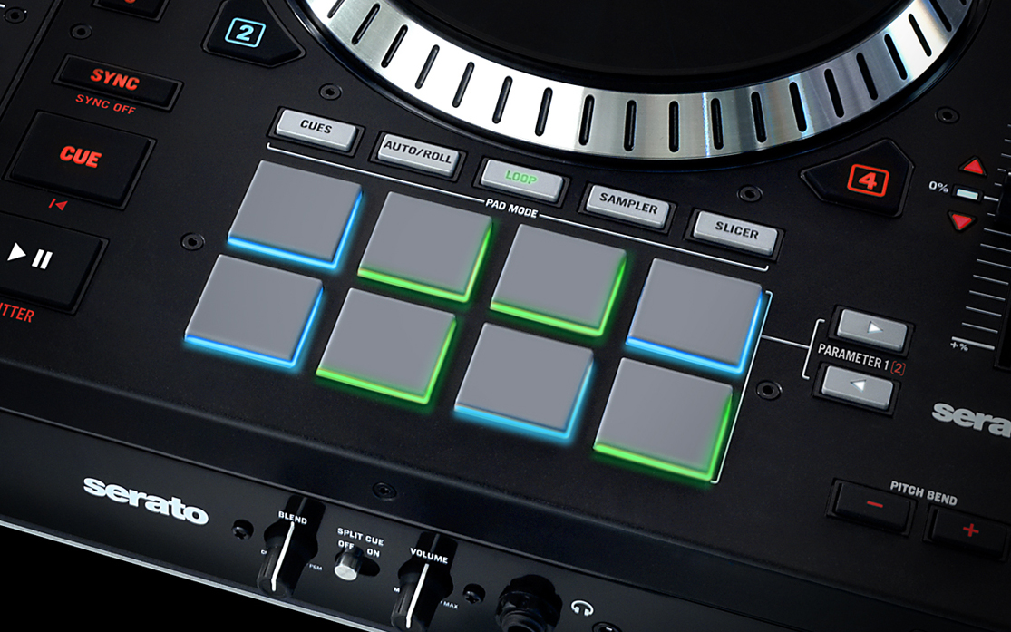 New Numark Ns7ii 4 Channel Motorized Dj Controller W